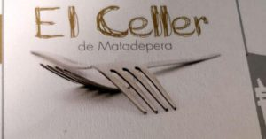 Celler de Matadepera carta